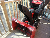 """A 28"""" snow blower for sale"""