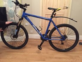 "4 month old Raleigh mtrax lahar mountain bike 20"" frame"