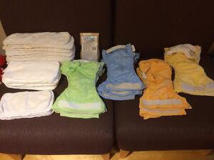 Lot de couches lavables usagées à vendre (120$)