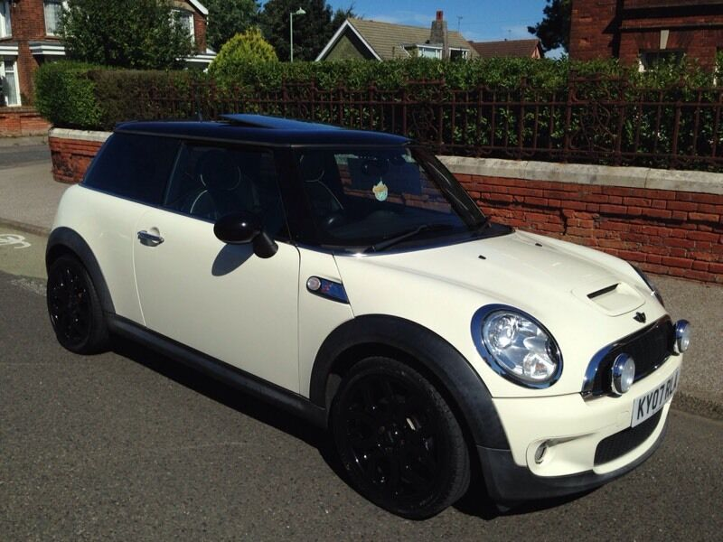 Mini Cooper S 51k Leather Pan Roof Piano Black Alloys