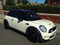 Mini Cooper S, 51k, Leather, Pan Roof, Piano Black Alloys