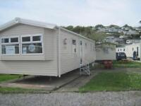 For sale new static caravan holiday home sited South Devon pool beach