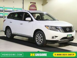 2014 Nissan Pathfinder SL 4WD A/C CUIR MAGS BLUETOOTH 7 PASSAGER