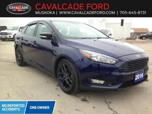 2016 Ford Focus Sedan SE Certified Used car Navigation,Bluetooth