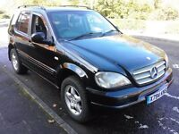 Mercedes ml270cdi mot June drives well priced to sell