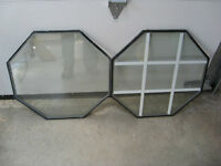 Replacement Glass Octagon Windows (BRAND NEW)