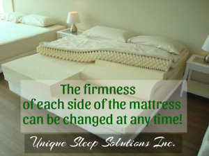 Custom Talalay Latex Mattresses, 100% Natural, Made in Barrie