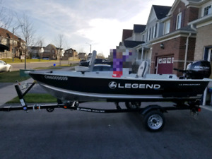 For Sale 2018 14' Legend ProSport 25HP Mercury Package