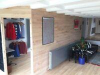 Furnished Room for Rent in Spacious Modernist Flat- Redland