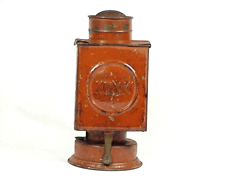 Antique KODAK Dark Room Oil Lamp
