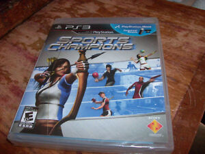 PS3 PLAY STATION VIDEO GAME SPORTS CHAMPIONS NEW