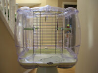 Vision bird cage + stand