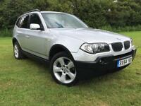BMW X3 2.0d 2005 SE FULL GREY LEATHER NEW CLUTCH + BRAKES FITTED