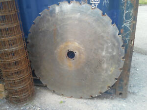 TENATIVELY SOLD - Old saw blade