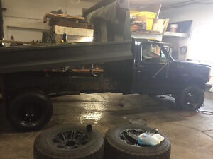 1997 Ford F-350 Dump body /salter Other