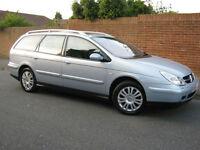 2004 04 REG Citroen C5 2.2HDi auto Exclusive ESTATE (SAT NAV)