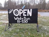 Sign for sale