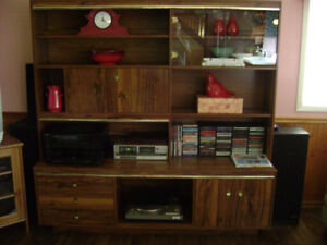 Wall Unit in 2 Sections Very Good Condition
