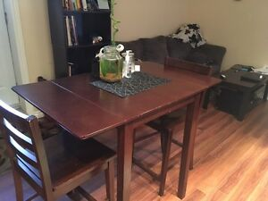 Dining Room Table with Two Chairs