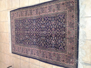 Beautiful, HAND WOVEN Indian area rug for sale...