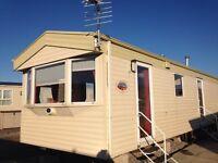 Caravan for rent on Newton Hall Blackpool
