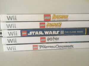 Lego Games for the Nintendo Wii