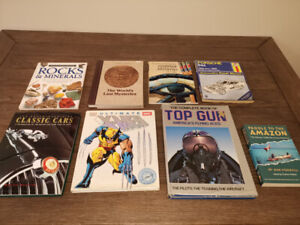 Old(er) Fiction and Non-fiction hard cover books, rare