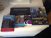 German speaking lesson language books and cd's