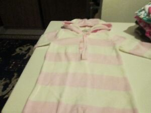 Warm knitted one piece with hood) (12-18 M) Kitchener / Waterloo Kitchener Area image 1