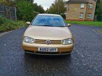 2002 Volkswagen Golf 1.9 TDI PD SE 5dr +Diesel +Good Runner