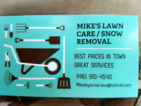 Fall maintance snow REMOVAL RESDENTIAL Vaughan Maple Richmondhil