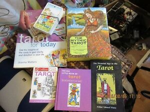 Tarot books and cards & Beatles Chord Songbook