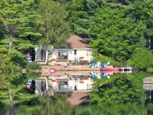 Cottage Rental on Beautiful Trout Lake - Heart of the Valley