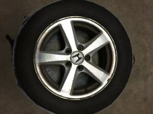 "16"" - 5 spoke 2003-2007 Honda Accord EX alloy rims with tires"