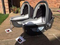 2 Britax Baby Safe Sleeper Car Seats £50 each