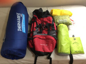 camp kit for waterproof survivor. (pieces not sold seperately)