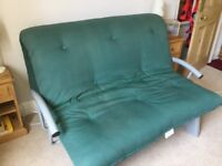 Double sized futon sofa bed excellent condition
