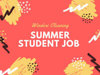 16$/H STUDENT WINDOW CLEANERS! APPLY NOW!