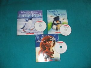 Primary Penquin and Squirrel Books with Cds