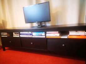 Ikea HEMNES triple TV STAND with drawers