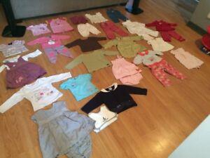 Vêtements pour fille de 0 à 2 ans