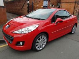 2011 [11] PEUGEOT 207 CC GT 1.6 CONVERTIBLE (LOW RATE FINANCE APPLY ONLINE)