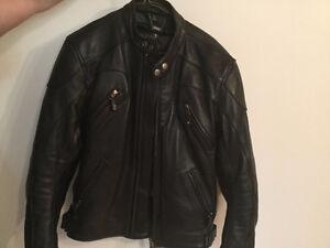 MotoCycle  Leather Riding Jacket - Ladies