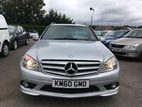 2010 MERCEDES-BENZ C CLASS 2.1 C220 CDI BLUEEFFICIENCY SPORT 5DR