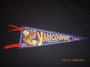 Vintage Vancouver BC  Pennant