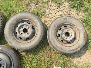 Metro, Firefly, Sprint small car tires and rims Moose Jaw Regina Area image 2