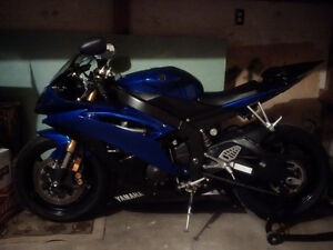 2009 Yamaha R6 With Full Akrapovic Exhaust 6000 AS IS!!