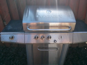 Big stainless bbq