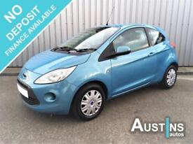 2009 (09) Ford KA 1.2 Style Plus 3-Dr, 57,000 Miles, Service History, 3 Owner