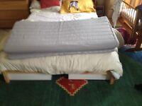 IKEA double mattress topper